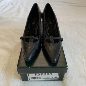 Ralph Lauren Bridget Kitten Heel-WORN ONCE